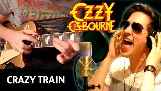 'Crazy Train' - By Ozzy Osbourne - **WORLDWIDE COVER** by Karl & Jonathan