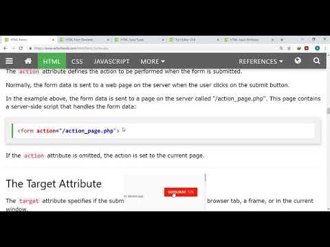PART 19   HTML Forms Part 1