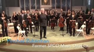 The SPCO with Pinchas Zukerman