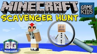 Minecraft Scavenger Hunt - Bro Gaming