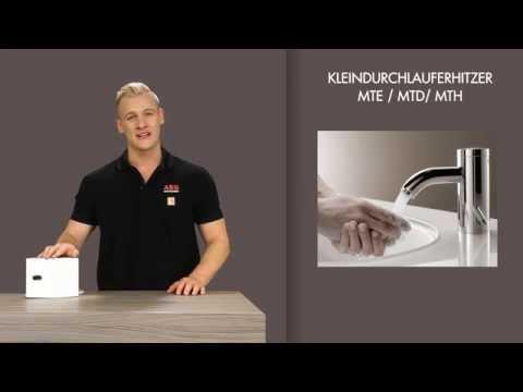 AEG Kleindurchlauferhitzer - Einfach sparsam