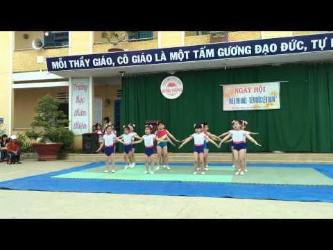 Aerobic Ước mơ thần tiên trường tiểu học Hùng Vương-Đà Lạt