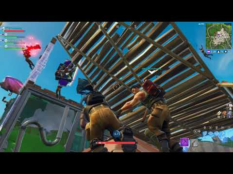 Tilted Towers Wake Ceremony (RAW FOOTAGE)