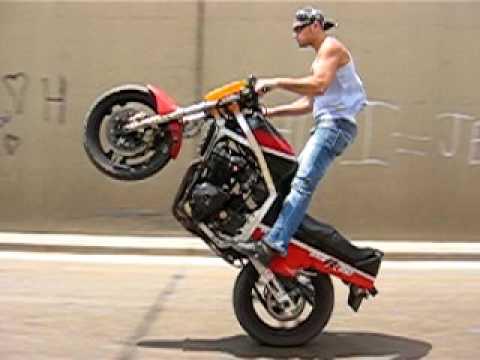 Motorcycle Stunts in Beirut Lebanon