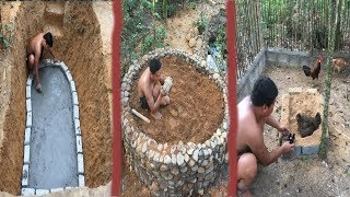 Primitive Life:Ancient Concrete-breed adopt fish and chicks!Next  months in the forest! thumbnail