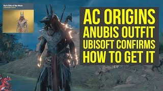 Assassin's Creed Origins Anubis Outfit HOW TO GET IT, But Not Right Now (AC Origins outfits)
