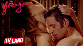 Charles & Liza's Sexiest Moments 🔥 Younger | TV Land