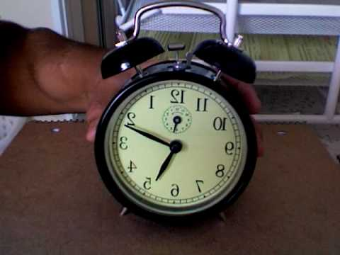 ikea alarm clock how to set