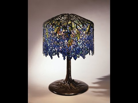 Tiffany Studios Wisteria Lamp