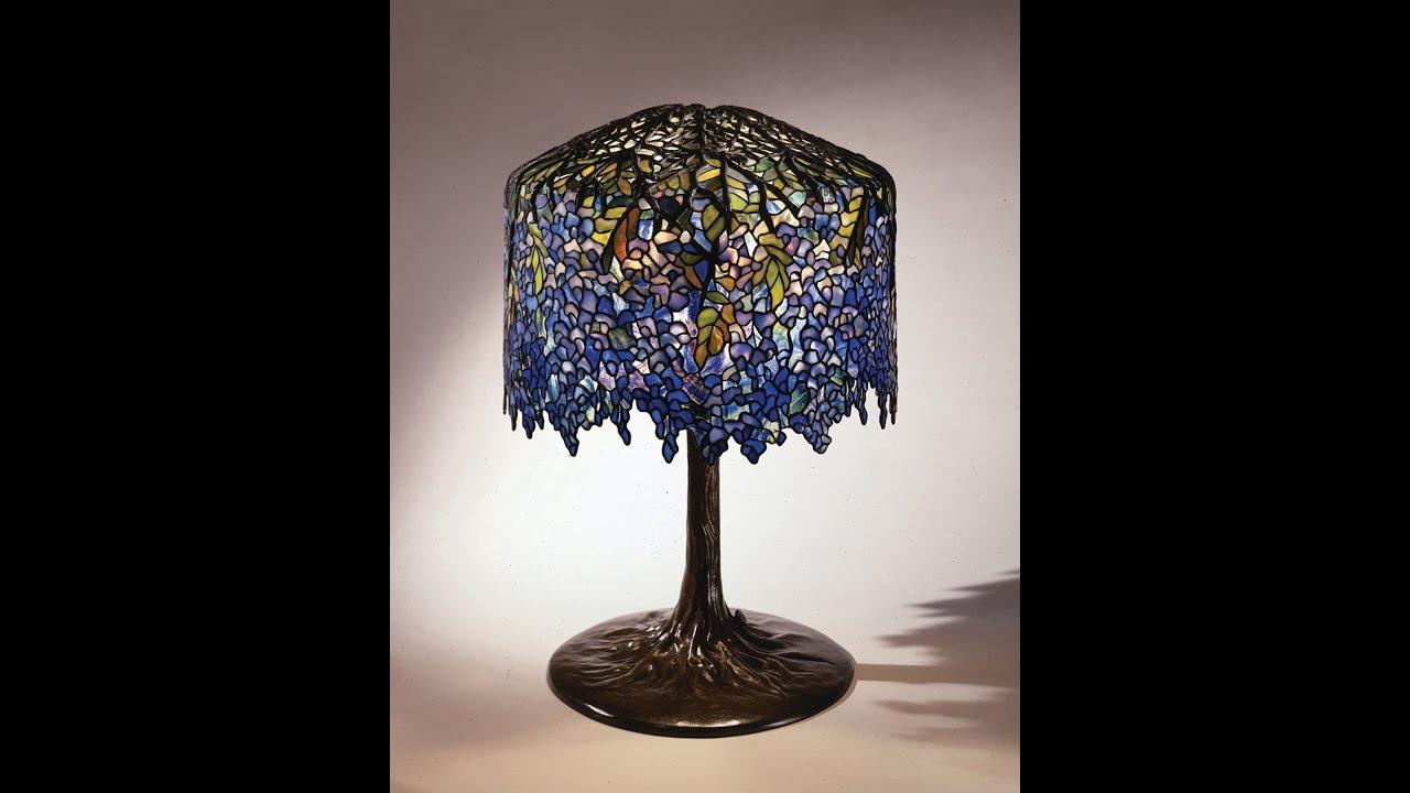 Tiffany Studios Wisteria Lamp Youtube