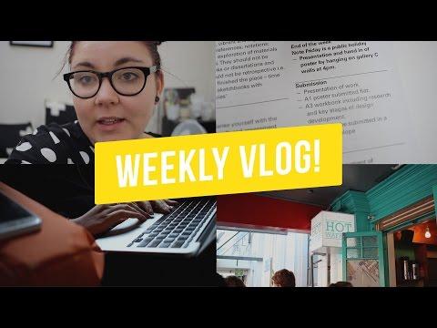 Back to Design School! | Weekly Vlog