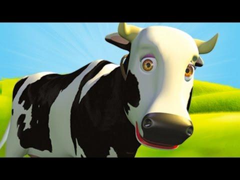 Mrs Cow - The Farm Song for Kids, Children's Music