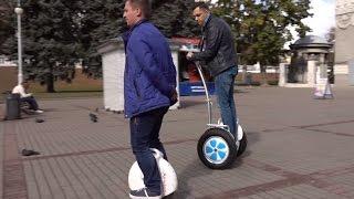 Моноколеса, гироцикл, электросамокат, гироскутеры и другой альтернативный транспорт