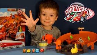 Тачки Маквин. Игрушки из мультика Тачки. Disney Cars Micro Drifters