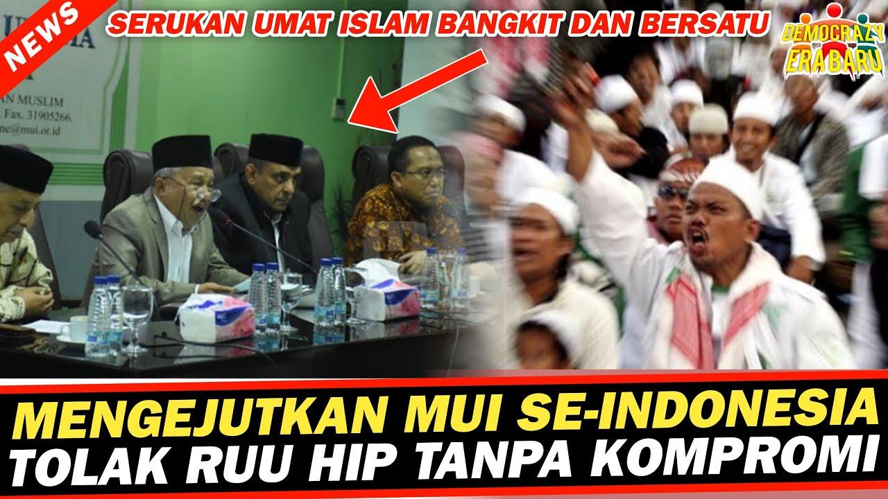 BERITA HARI INI🔴MUI SE-INDONESIA TOLAK RUU HIP BERITA ...