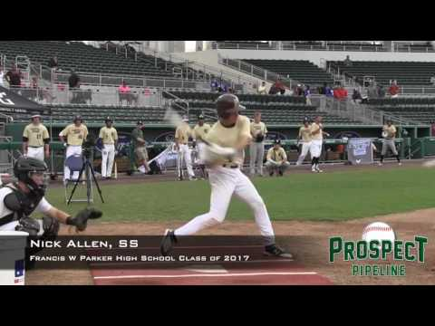 Nick Allen prospect video, SS, Francis W Parker High School Class of 2017