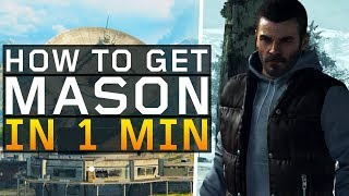 How to Unlock Mason in 1 minute! (Black Ops 4: Blackout)
