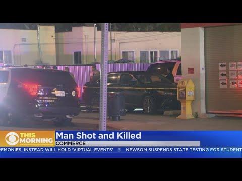 Man Shot, Killed In Commerce Parking Lot