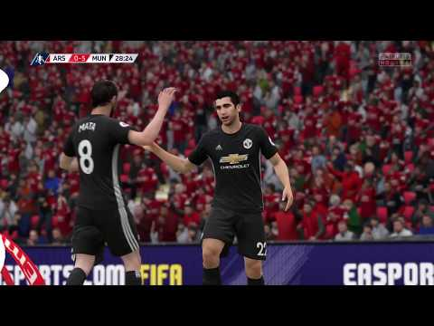 FIFA 18 The Emirates FA Cup Final Part 6 || Manchester United destroys Arsenal