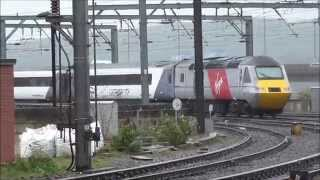 Trains at Newcastle 25/4/15