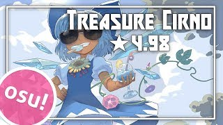[osu!] ★4.98 Treasure Cirno - Akatsuki Records [Gameplay]