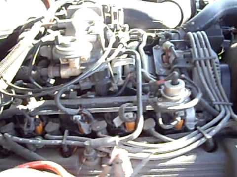 1997 Lincoln Town Car Engine Running Youtube