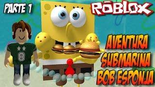 ROBLOX-SpongeBobs Unterwasser-Abenteuer #1-Schwamm Bob Obby