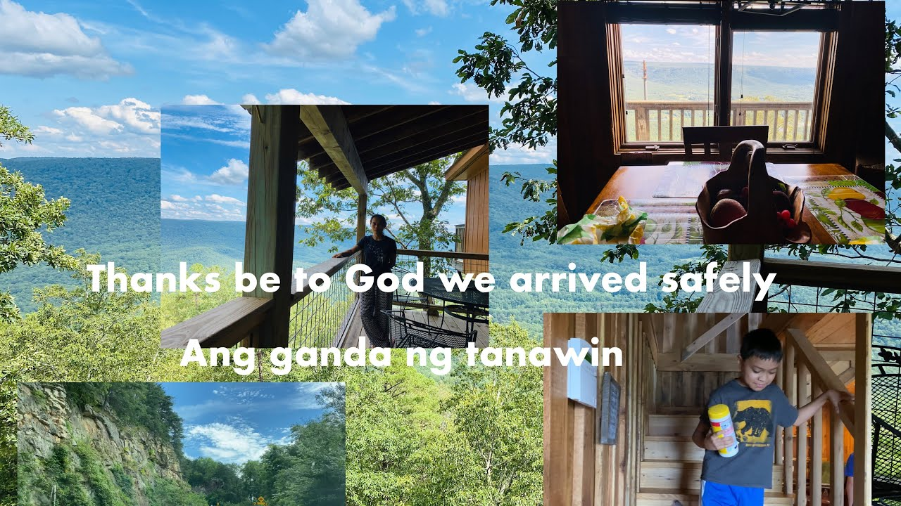 TRAVELING TO GEORGIA/RISING FAWN GANDA NG TANAWIN/jenjenvlogs