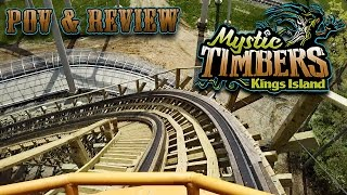 Mystic Timbers Front Seat On Ride POV & Review. See What