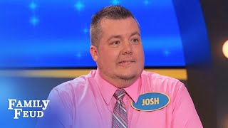 I only went to the strip club for the... | Family Feud