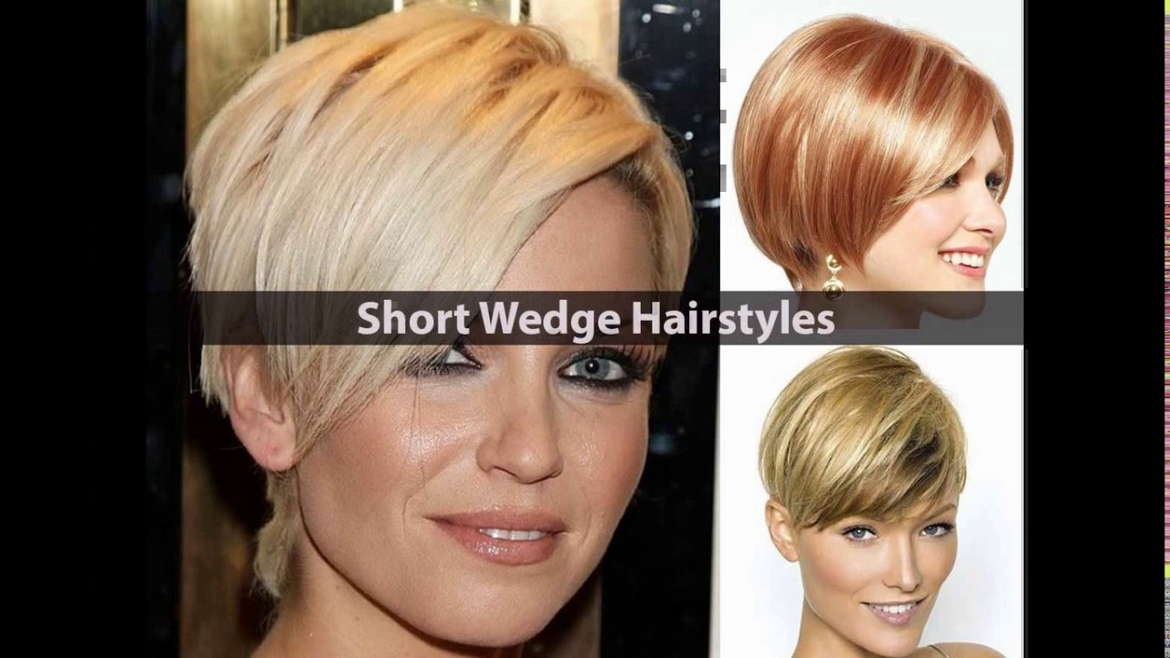 Short Stacked Wedge Haircut Youtube