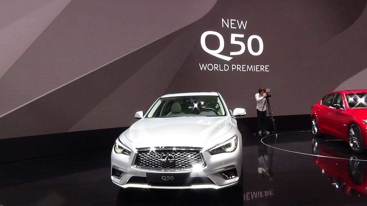 2018 infiniti q50. Perfect Q50 2018 Infiniti Q50  Exterior And Interior Geneva Motor Show 2017 On Infiniti Q50