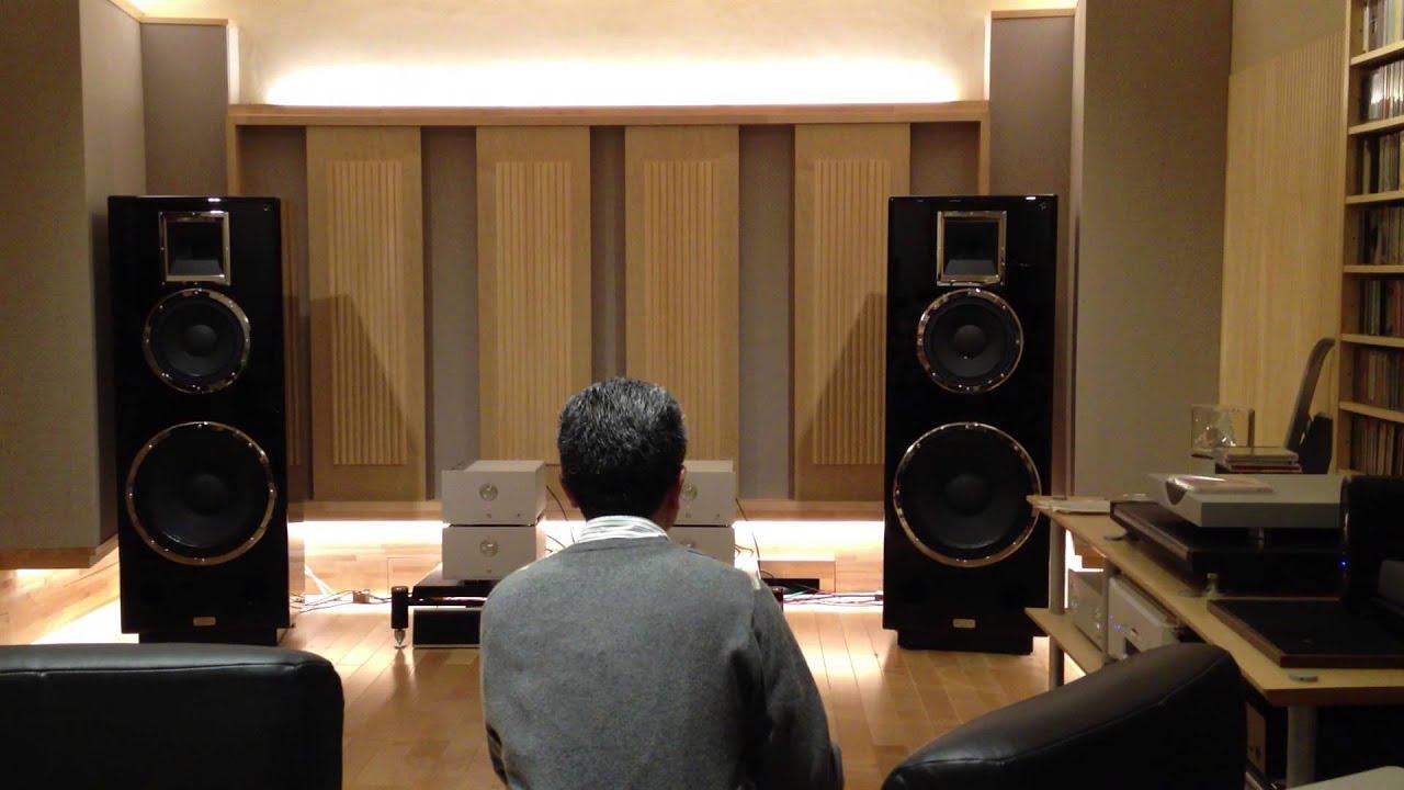 KRS model 4343 speakers driven by Luxman CL-38u + Mark Levinson No .