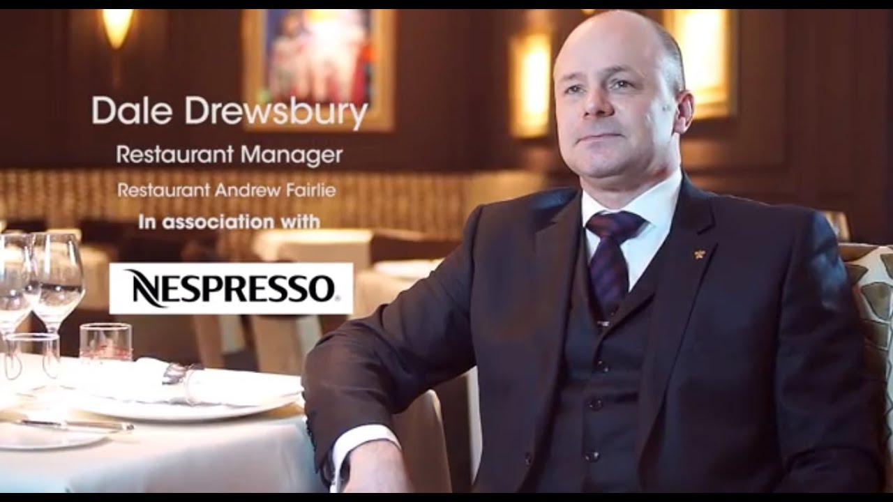 michelin star restaurant manager dale drewsbury talks food 2 michelin star restaurant manager dale drewsbury talks food service