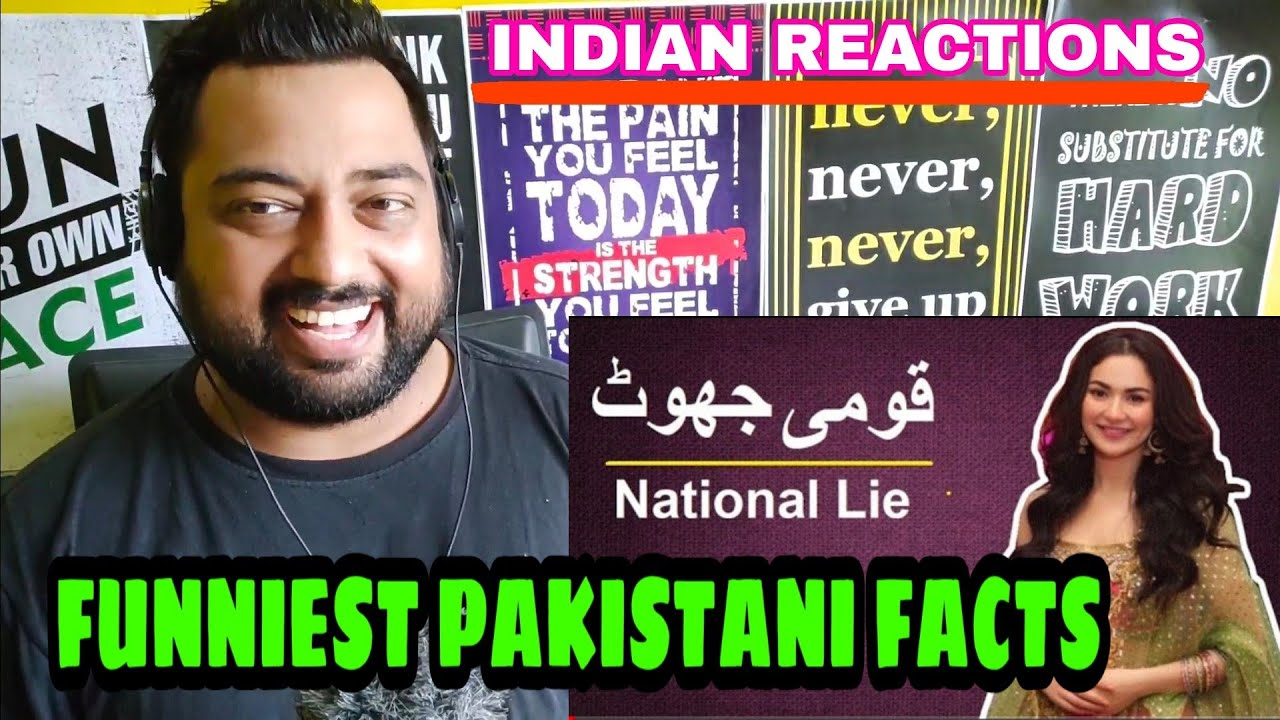 Indian Reacts to FUNNEST PAKISTANI FACTS