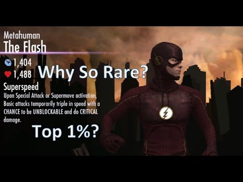 Why is Metahuman Flash So Rare in Injustice Mobile?