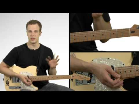 Jazz 3-6-2-5-1 Chord Progression - Guitar Lesson