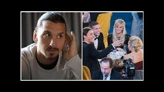 Zlatan särbehandlas på Fotbollsgalan i tv
