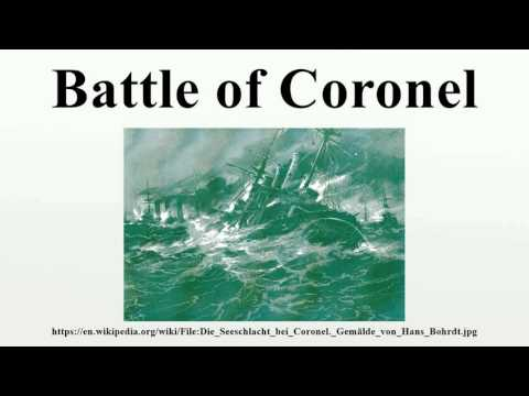 Battle of Coronel