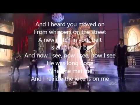 I knew you were trouble-Taylor Swift (Lyrics)