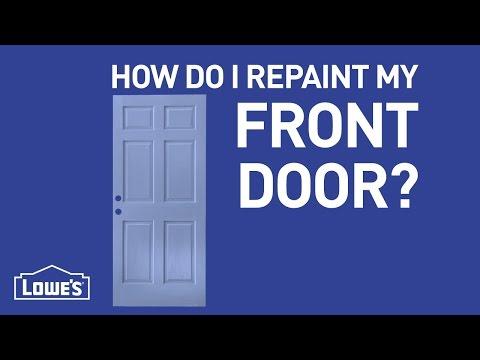 How Do I Repaint My Front Door? | DIY Basics