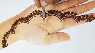 New Easy Stylish Mehndi Design for Hand - EID Special Mehndi Design ...