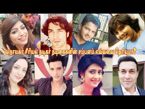Per Day SALARY Of Vinayagar Serial Actors & Actresses