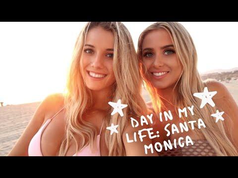 DAY IN MY LIFE: SANTA MONICA BEACH