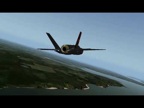 Lockheed-Martin F-35B Vertical Takeoff, Transition and Vertical Landing