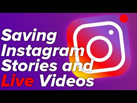 How to Save Stories and Live Videos from Instagram!