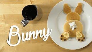 How To Make Pancake Art - Bunny