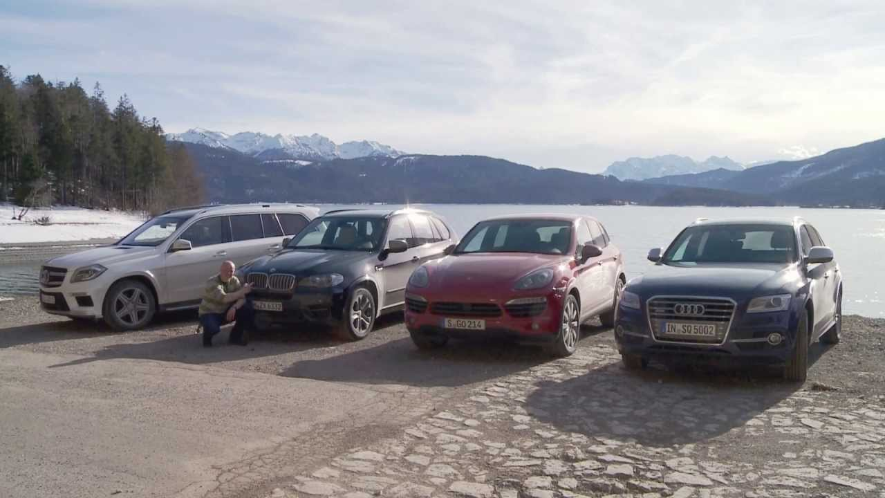 Audi SQ5 TDI Porsche Cayenne S diesel Mercedes GL63 AMG BMW X5