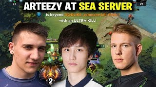 Arteezy At SEA SERVER - Prepare for Kuala Lumpur Major
