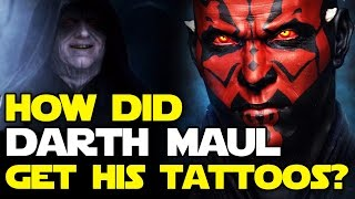 How Did Darth Maul Get His Tattoos and Markings? Star Wars Revealed | Star Wars HQ